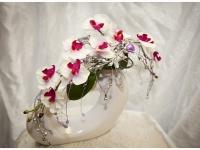 Настольная композиция с орхидеями